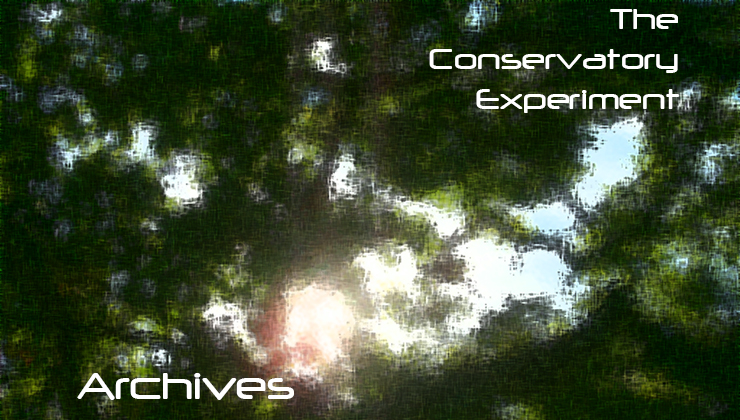 Archives - The Conservatory Experiment